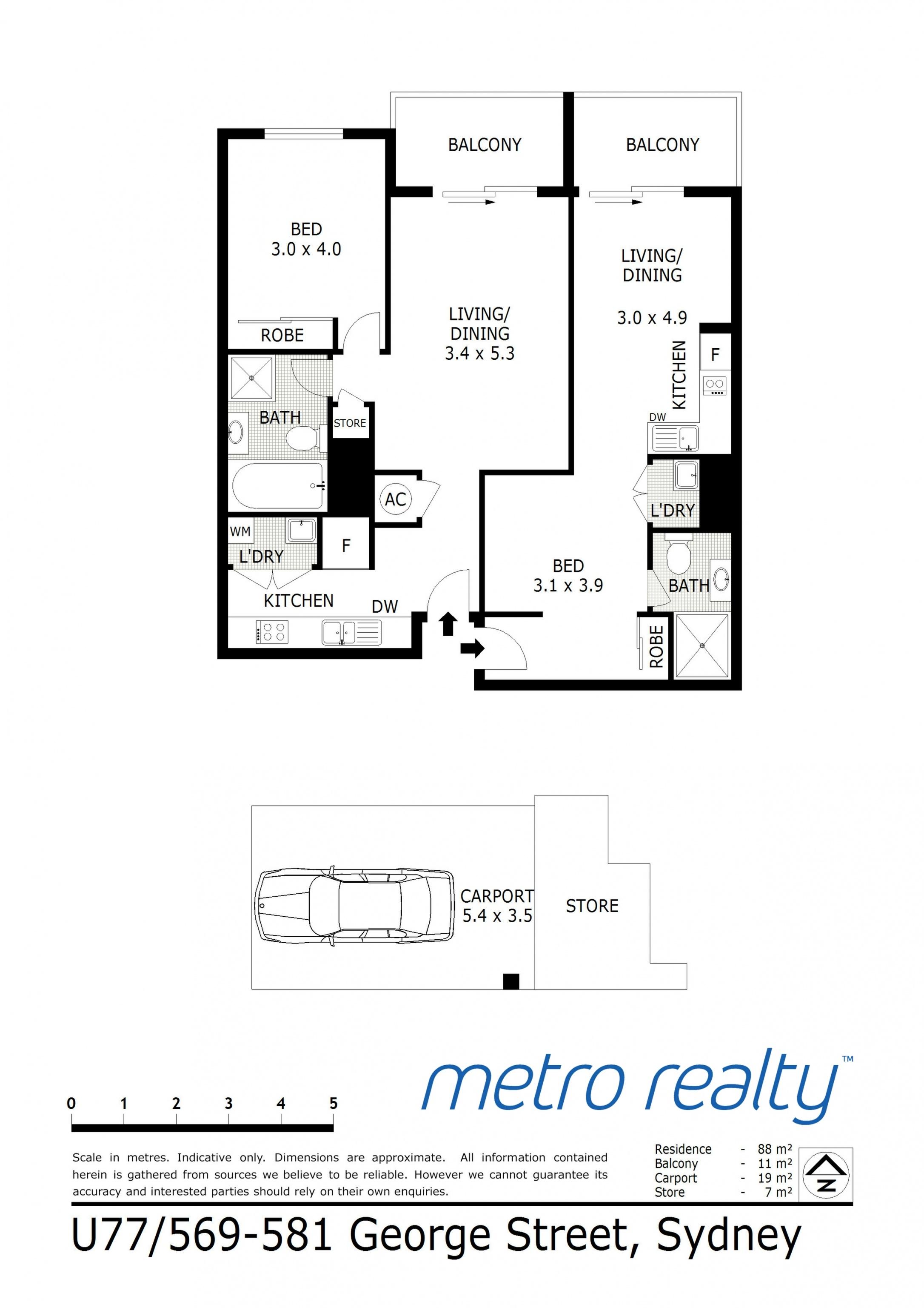 77a Amp 77b 569 George Street Sydney Nsw 2000 Metro Realty