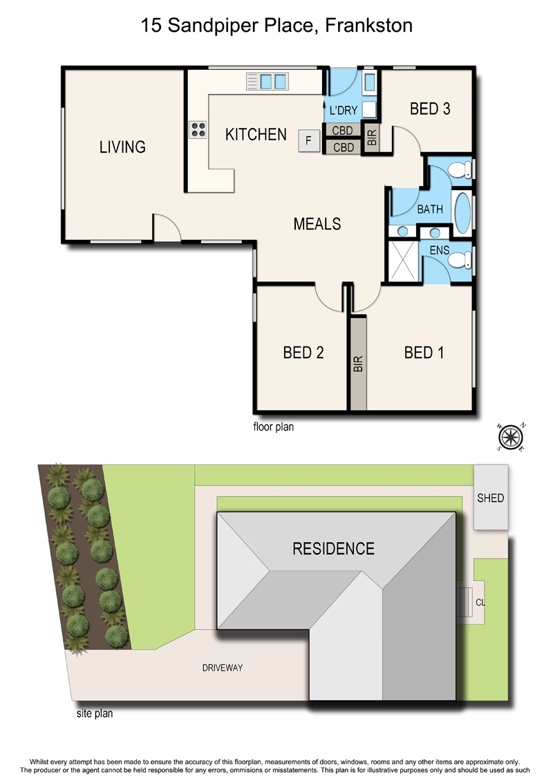 15 sandpiper place frankston vic 3199 ash marton realty for 15 dunham place floor plans